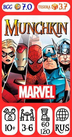 Munchkin Marvel Edition