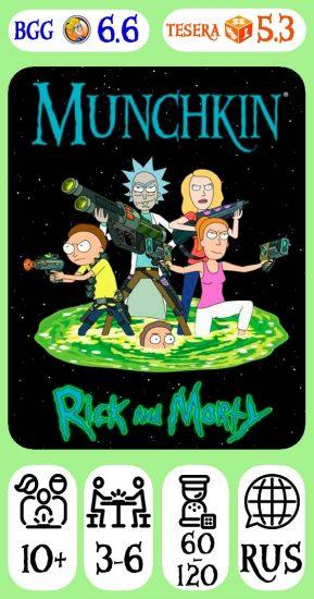 Munchkin Rick&Morty